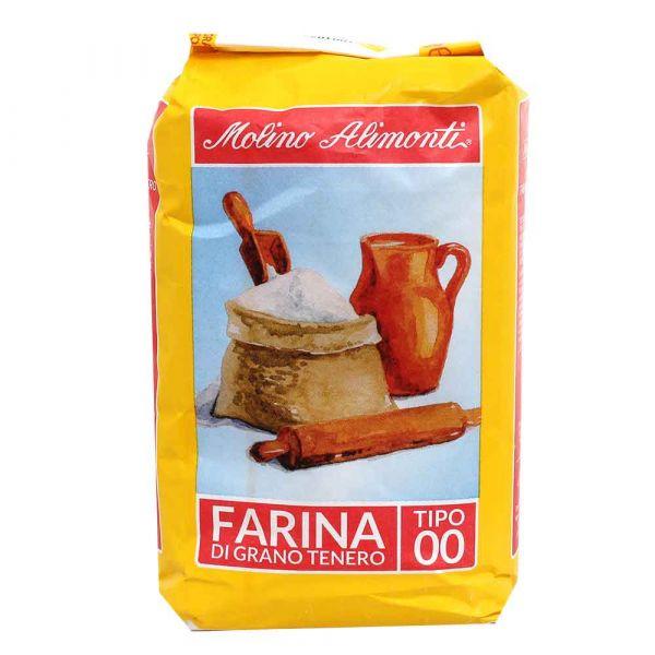 Farina di grano tenero tipo 00 Molino Alimonti 1 kg