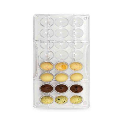 Stampo per 24 cioccolatini Ovetti Decora