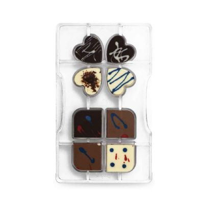 Stampo per cioccolatino quadrifoglio Decora