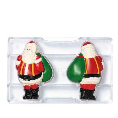 Stampo Babbo Natale grande 2 cavità