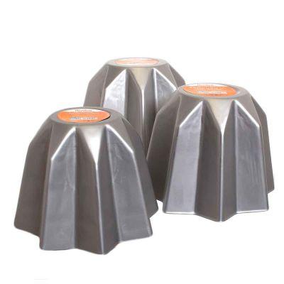 Stampo per Pandoro in alluminio 3 misure Decora