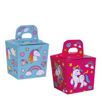 Candy Box Unicorno 6x6x10,5h cm Decora