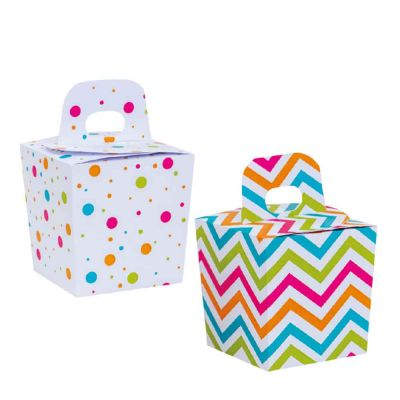 Candy Box Pois 6x6x10,5h cm Decora
