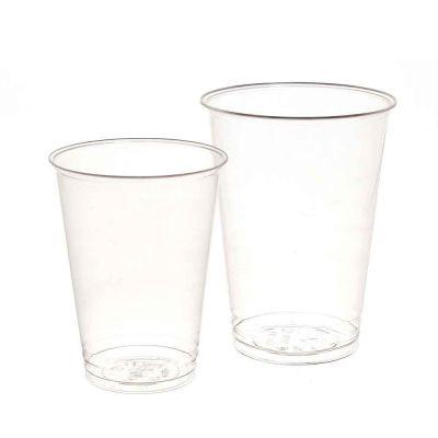 Bicchieri compostabili in PLA trasparente DOpla GREEN