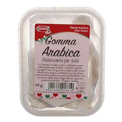 Gomma Arabica vegetale in polvere 40 g
