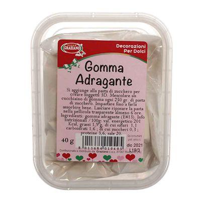 Gomma Adragante in polvere 40 g