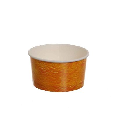 Coppette gelato carta Box-Gel Color Fruit Arancia 160cc