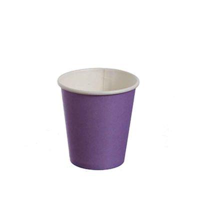 Bicchieri di cartoncino lilla da caffè DOpla Party 80 ml