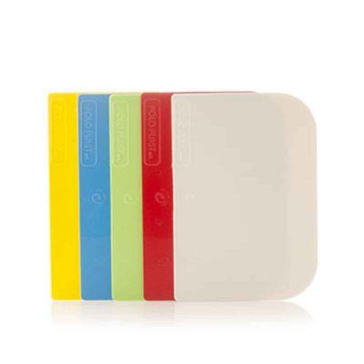 Raschietti in plastica taglia impasto vari colori 251-MIX