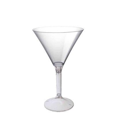 20 Coppe cocktail Martini lavabili trasparenti 185cc