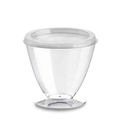 Bicchierini monoporzione Shuttle 165cc con coperchio piatto