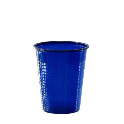 Bicchieri di plastica colorati DOpla Colors 200cc blu