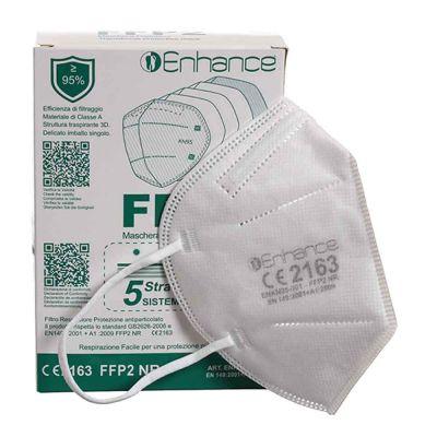 Scatola e Mascherina FFP2 Enhance