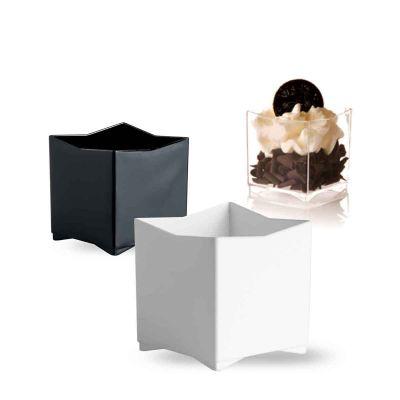 Bicchierini monoporzione per mini dessert e finger food Kubo