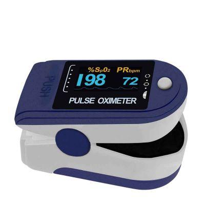 Pulsossimetro Saturimetro OXI per misurare l'ossigeno nel sangue
