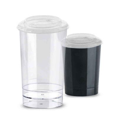 Bicchierini con coperchio Poloplast Tubito